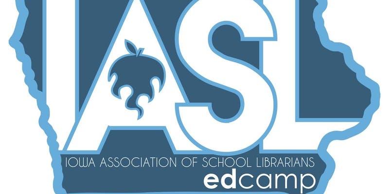 Iowa Association of School Librarians EdCamp logo