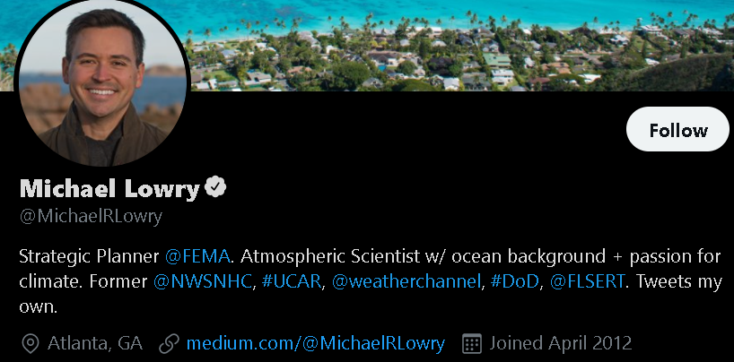 Michael Lowry - Weather Influencer