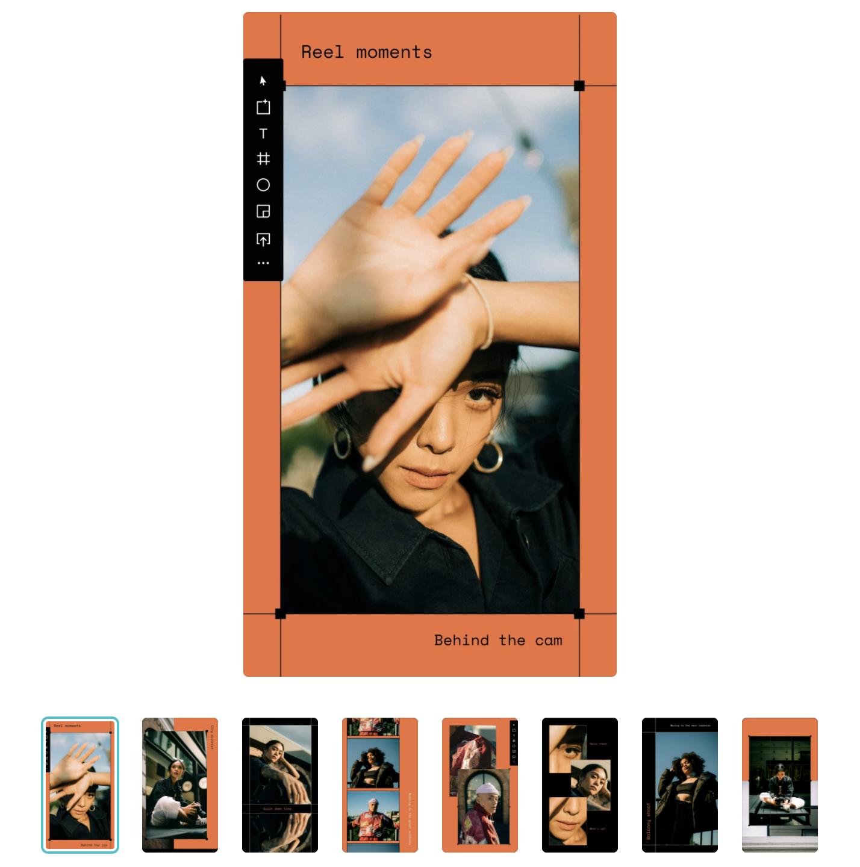 Canva Digitalism Instagram Stories Template