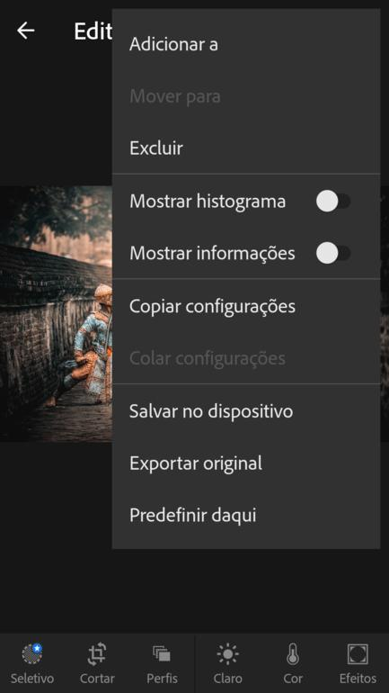 presets para Lightroom Mobile