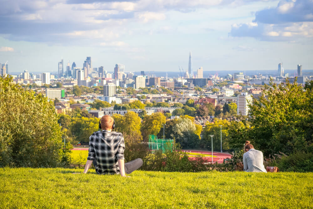 Parks in London - Hampstead