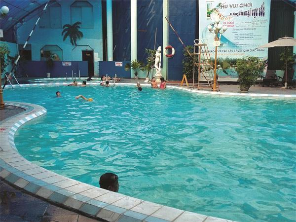 Kết quả hình ảnh cho Bể bơi Vạn Bảo
