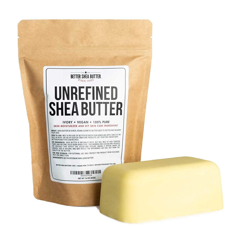 Unrefined African Shea Body Butter