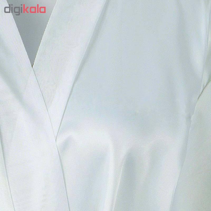 ربدوشامبر زنانه کد T-820 رنگ سفید