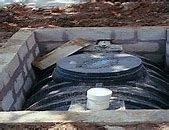 septic tanks