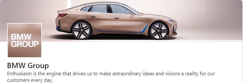 BMW LinkedIn Cover Photo