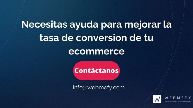 Consultora de tiendas online o ecommerce especializada en Shopify