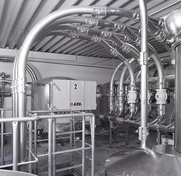 pneumatic conveying elbow system