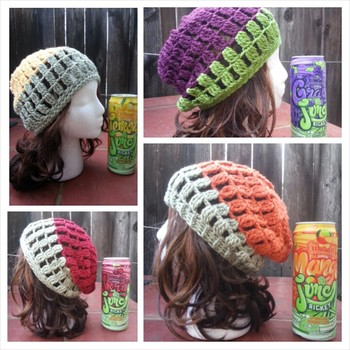 Free crochet pattern: Inspired slouchy hats-slide0