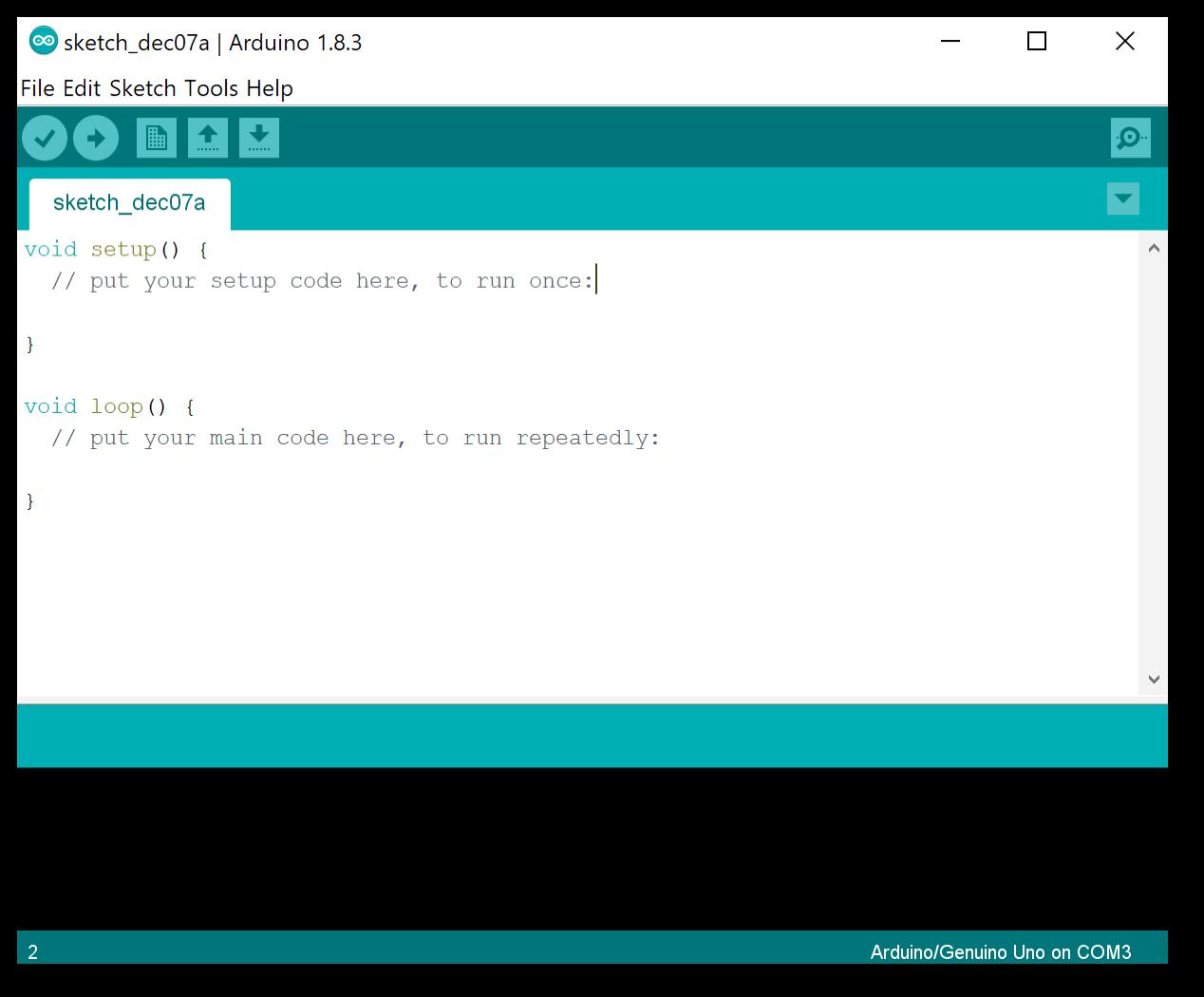 Programa Arduino