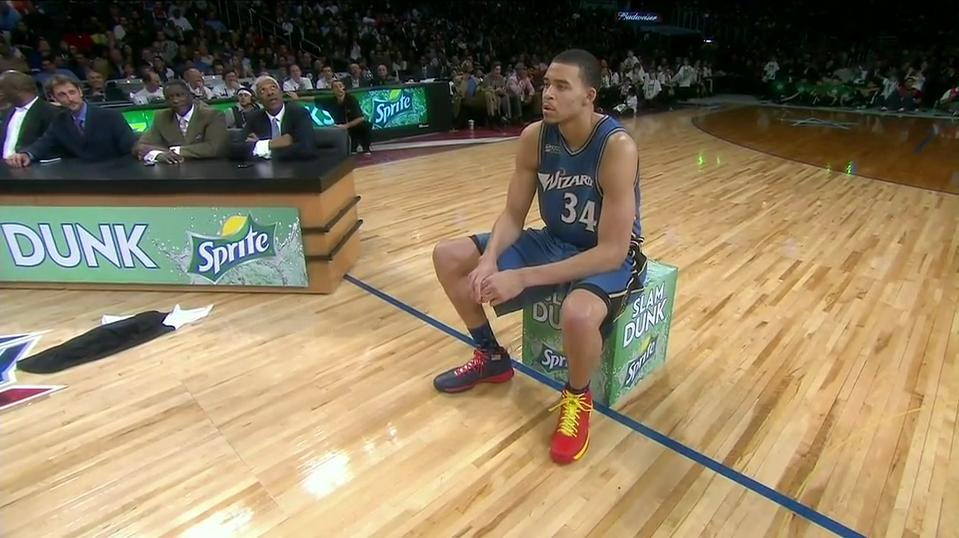 JaVale McGee dunk comp shoes