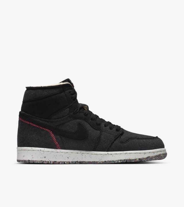 """Air Jordan 1 High Zoom Crater"" รองเท้า Air Jordan แบบรีไซเคิล 02"