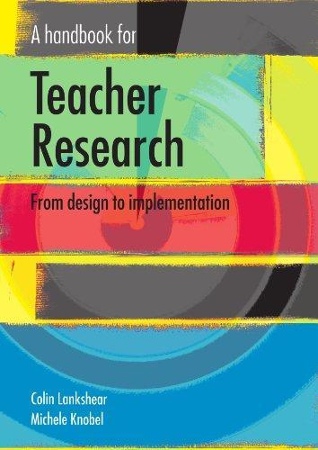 9780335210640: A Handbook for Teacher Research