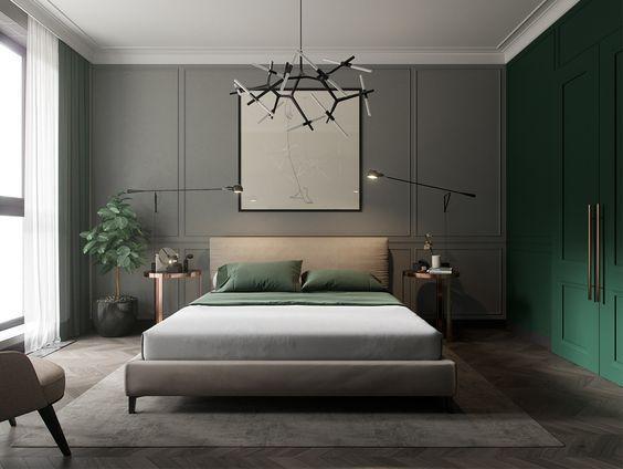 Quarto com cama e janela  Descrição gerada automaticamente