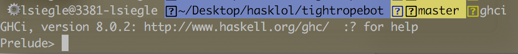 Successful Haskell Installation on the Command Line