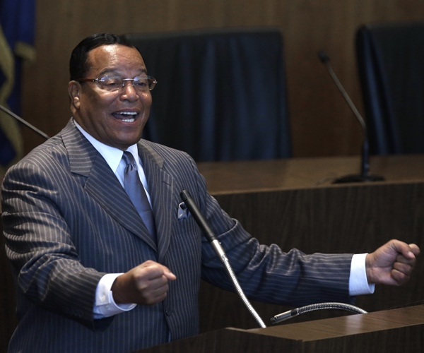Image: Rev. Farrakhan to Followers: 'White People Deserve to Die'