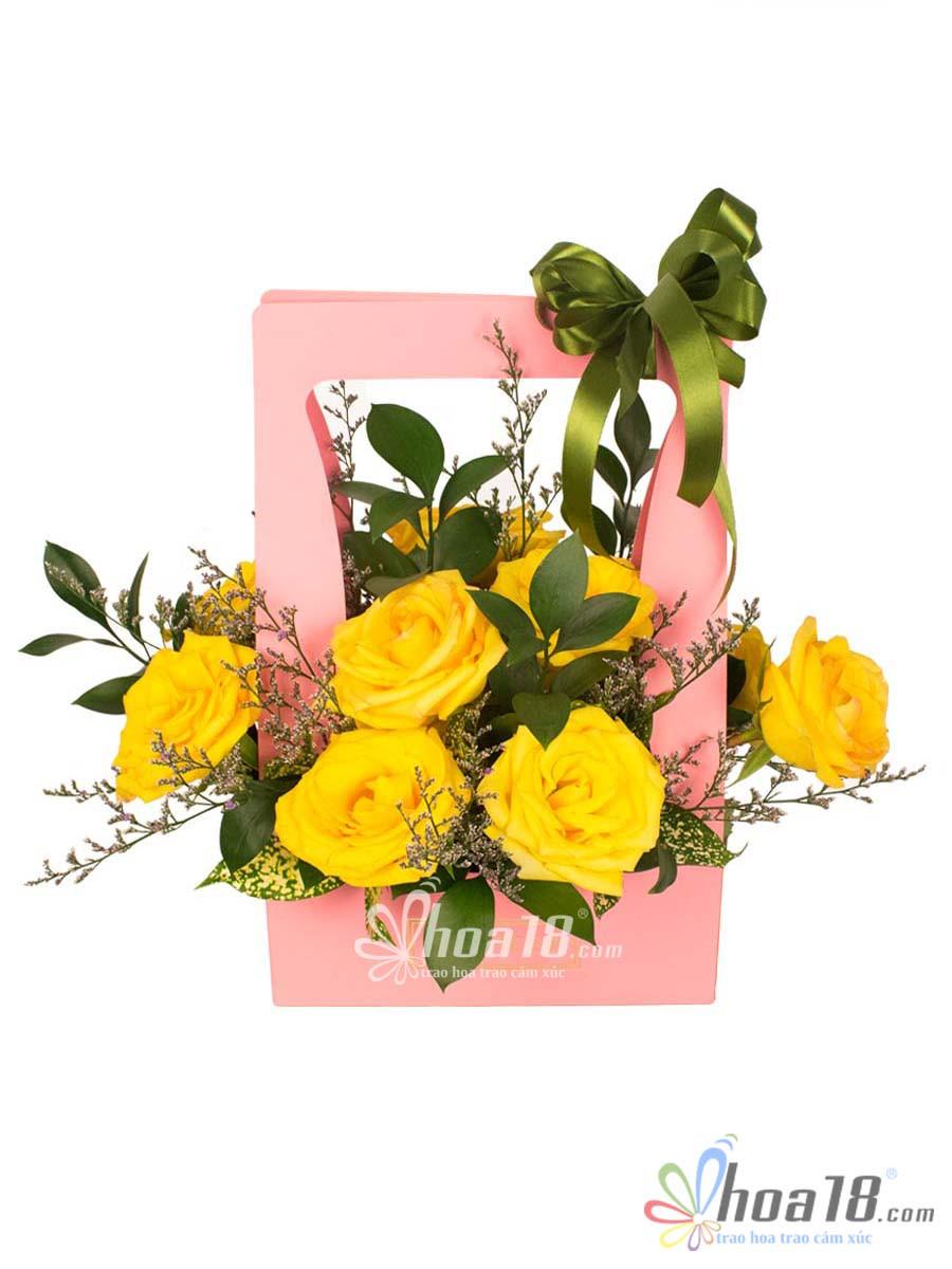 gio hoa tang ngay le tinh nhan dep