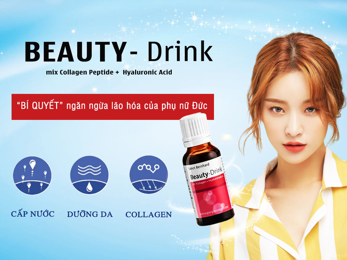 Review nước uống collagen beauty drink