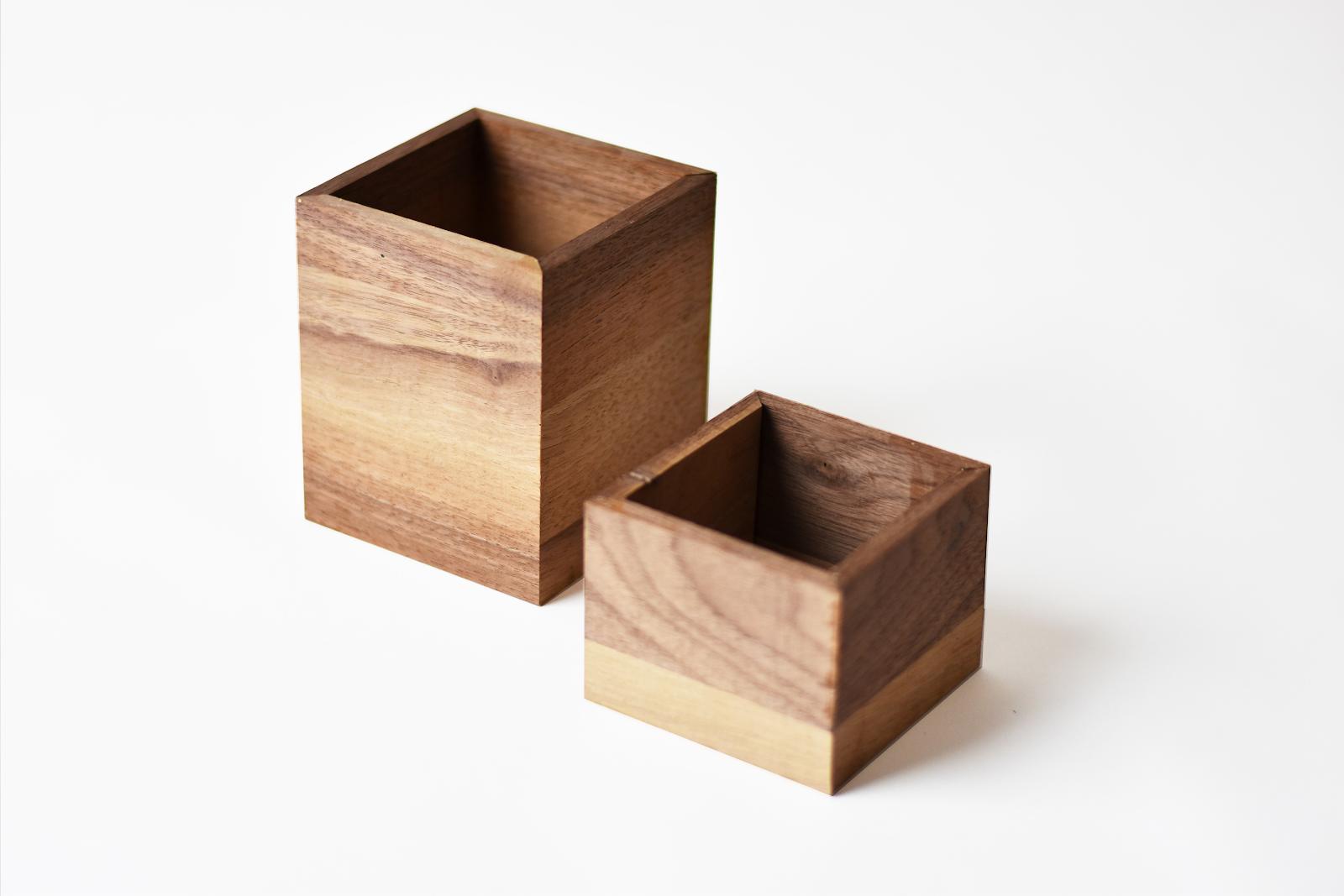 boite de rangement, boite en bois, cube en bois, cube de rangement montessori, rangement jeux enfant, rangement jouets enfants