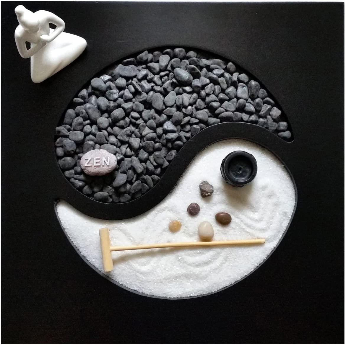 jardin zen en miniatura