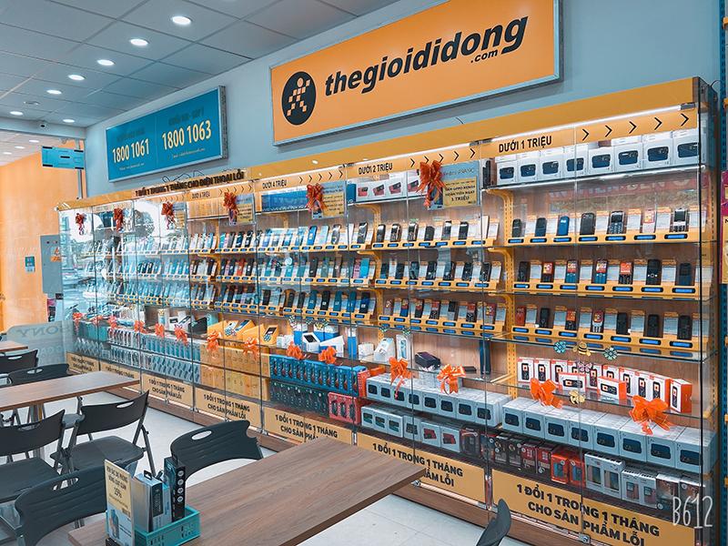 Thegioididong.com tại Điện máy XANH Đường NE8, TX. Bến Cát, Bình Dương