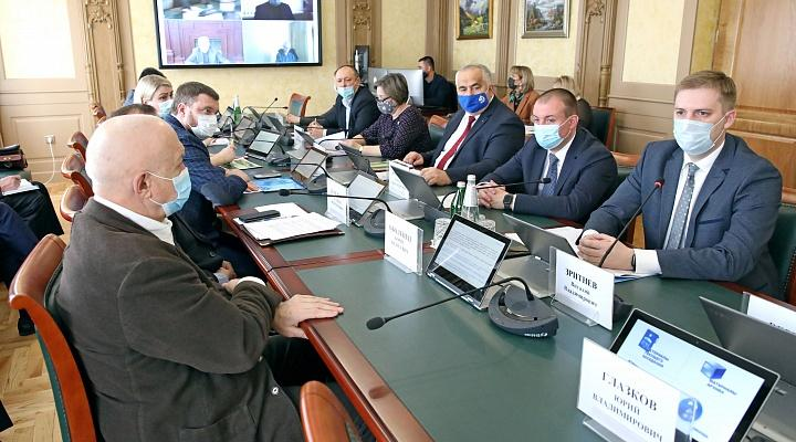 В Думе обсудили вопросы кадастровой оценки и исполнение переданных полномочий по неразграниченным землям сельхозназначения