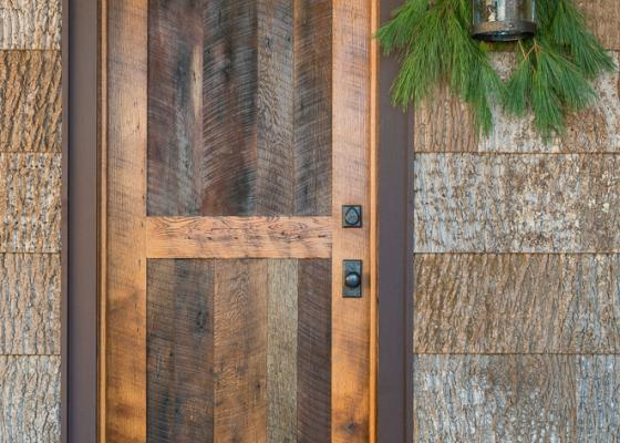 Timeless Exterior Barn Doors