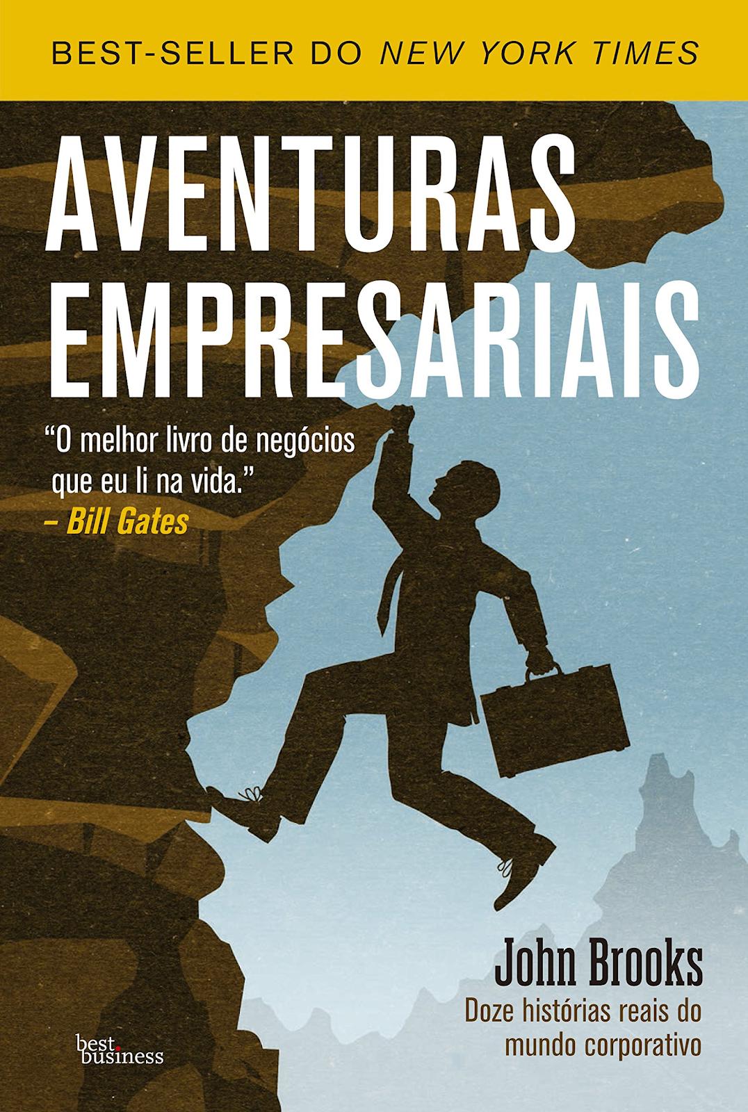"Capa do Livro ""Aventuras Empresariais"""
