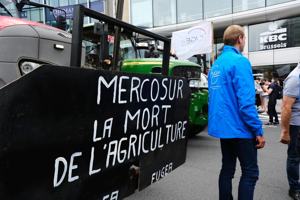 A União Europeia critica  a política de agrotóxicos usada no Brasil e em outros países do Mercosul. (Fonte: Alexandros Michailidis/Shutterstock)