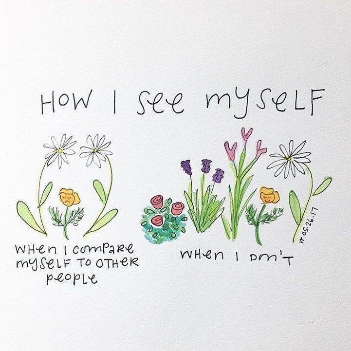 bahagia tidak membandingkan