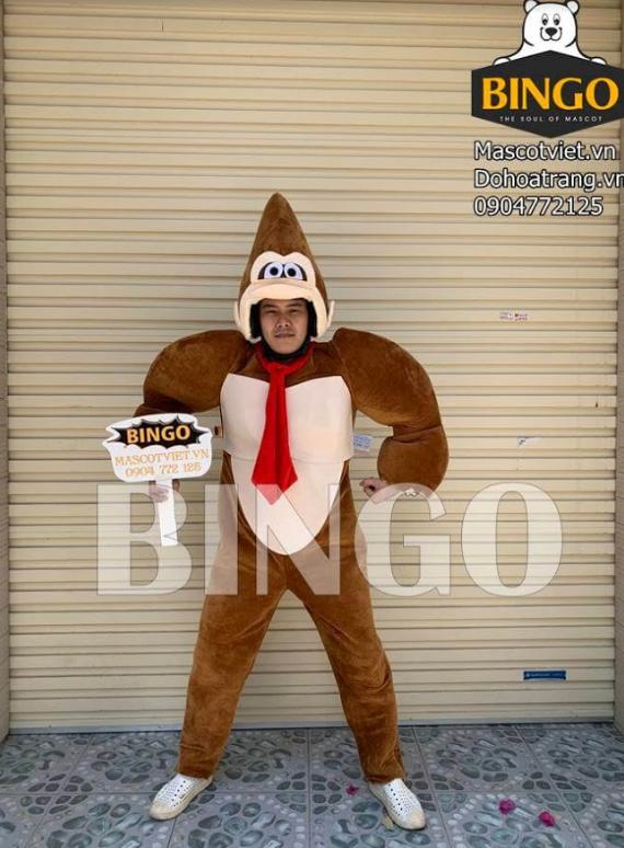 Trang phục hóa trang con khỉ 01