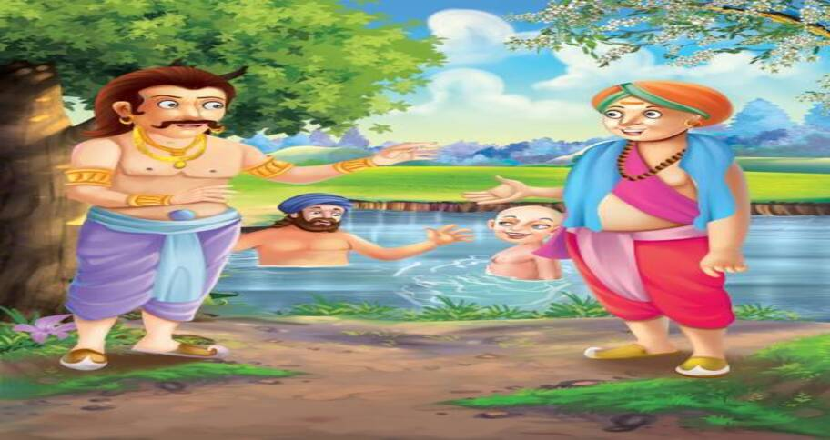 tenali raman teaches kids about being clever and humorous