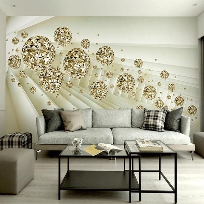 Incorporate 3D Wallpaper for a Big Wall Decoration