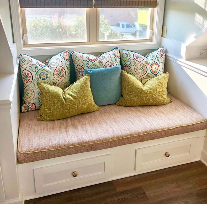 builtin bench window seat nook cushion drawers superior construction and design lebanon