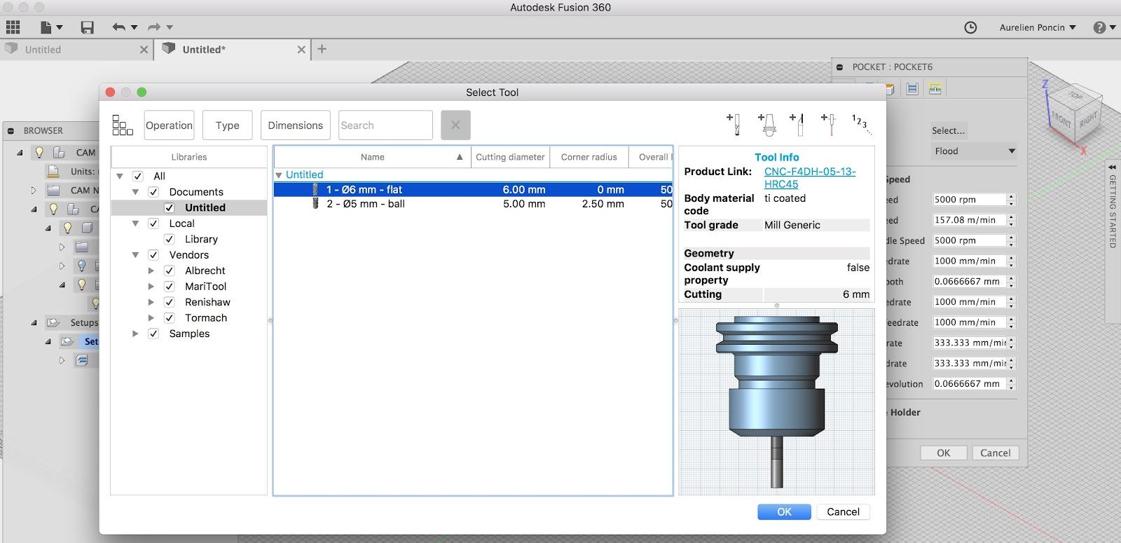 Usiner en 3D avec l'Aureus 3X via Fusion 360