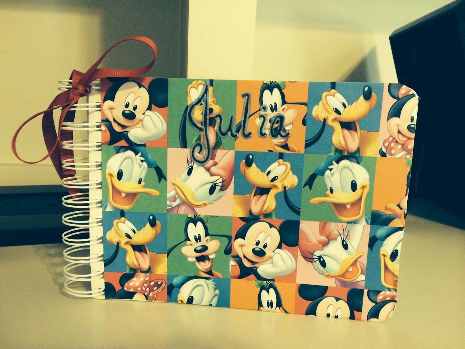 Mickey autograph book.JPG