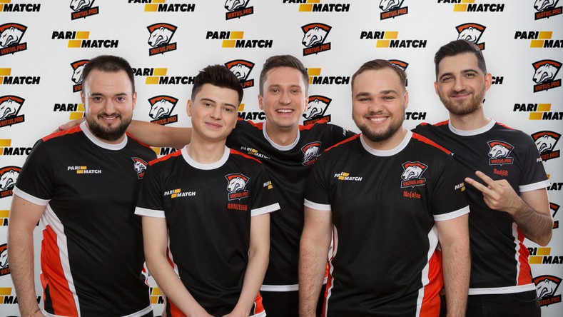 The Dota2 players of Virtus.pro rejoice in the new partnership extension with their title sponsors, Parimatch