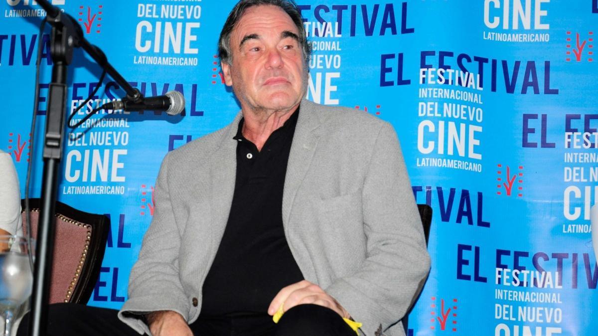 著名美國導演奧立佛史東也參加了今年的哈瓦那電影節。