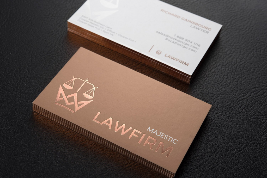 attorney business cards 25 examples tips  design ideas