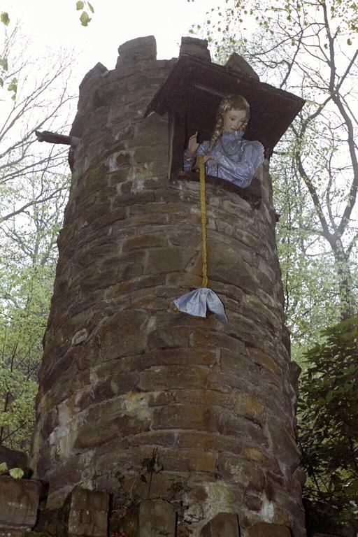 Rapunzel im Märchenwald