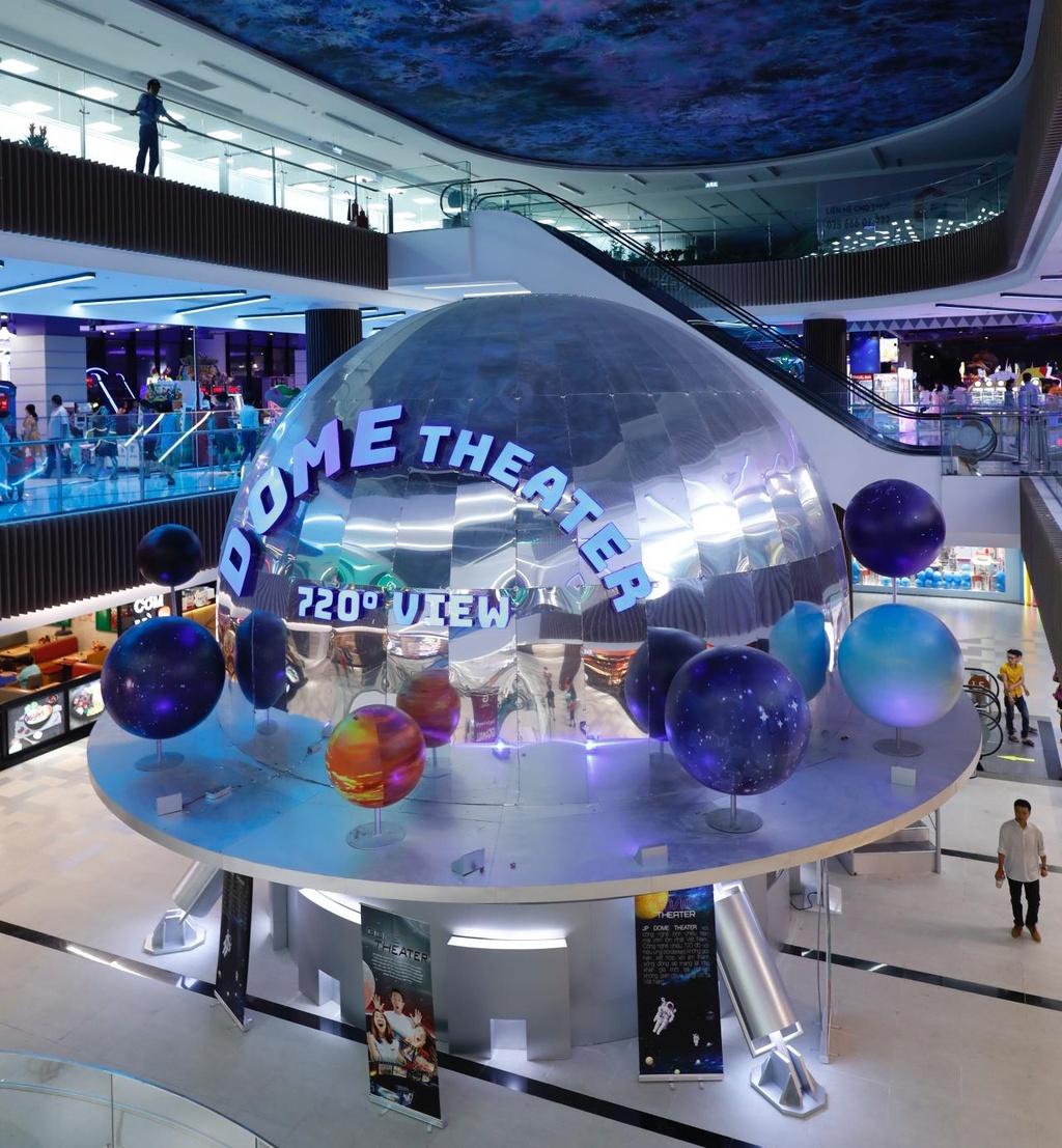 """Trung tâm thương mại Gmall – """"Tân bình"""" với công nghệ vượt trội"""