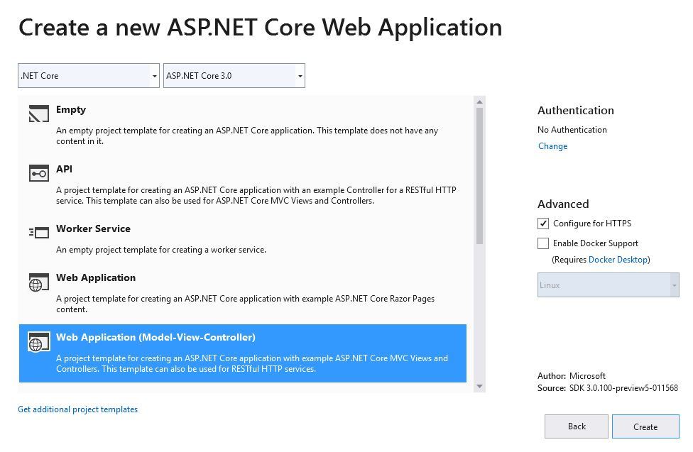 How to add SignalR to Asp Net Core 3 0 app using Visual