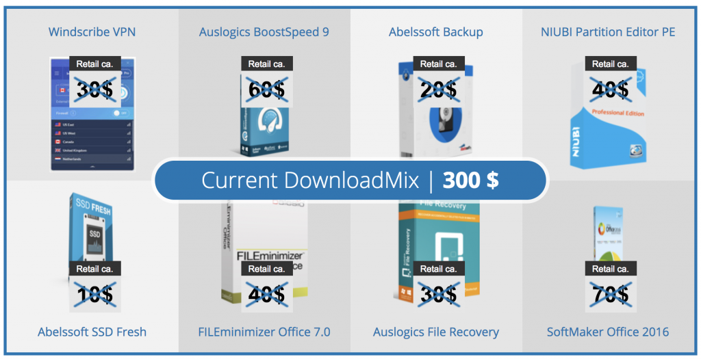 downloadmix software bundle