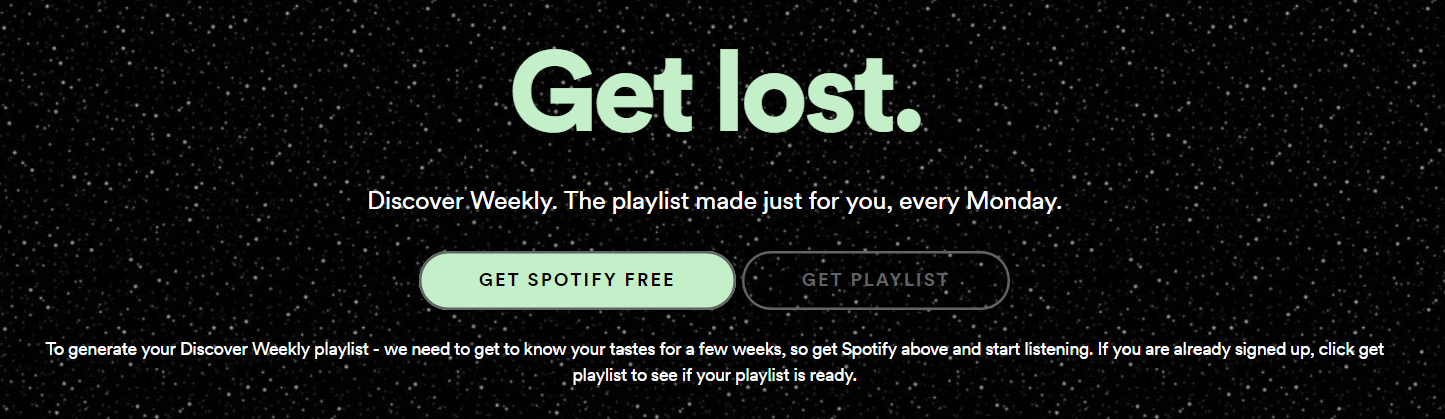 spotify discover now personalization