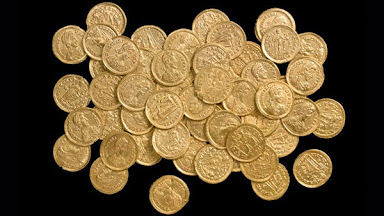 Metal Detecting Gold coins