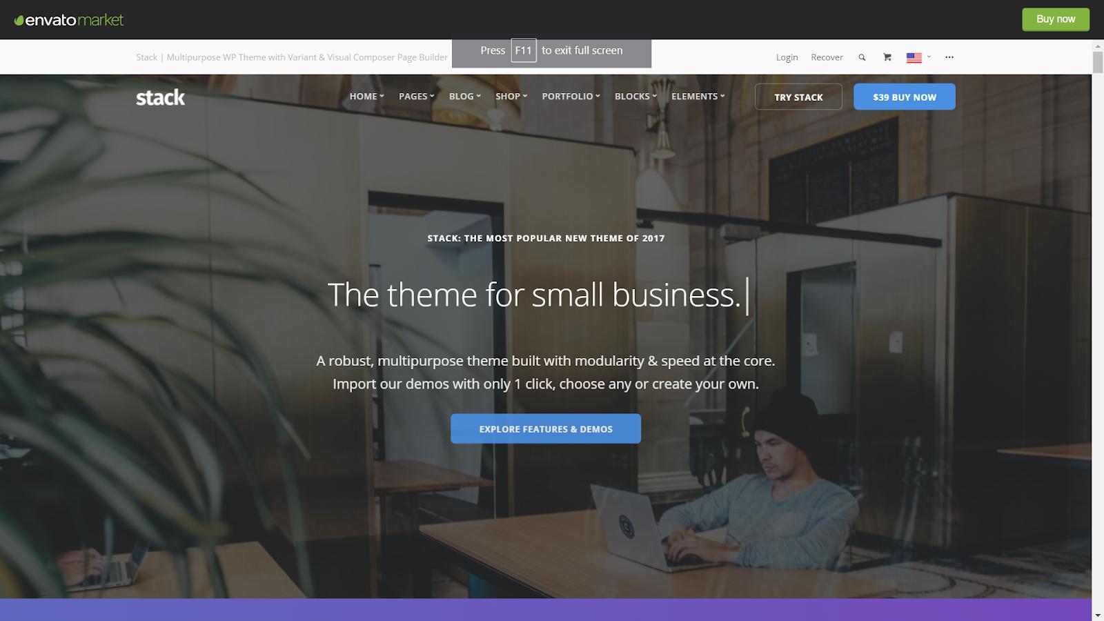 Stack Masonry WordPress Themes