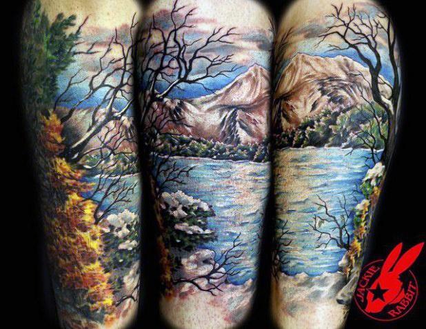 Female Half Sleeve Tattoos