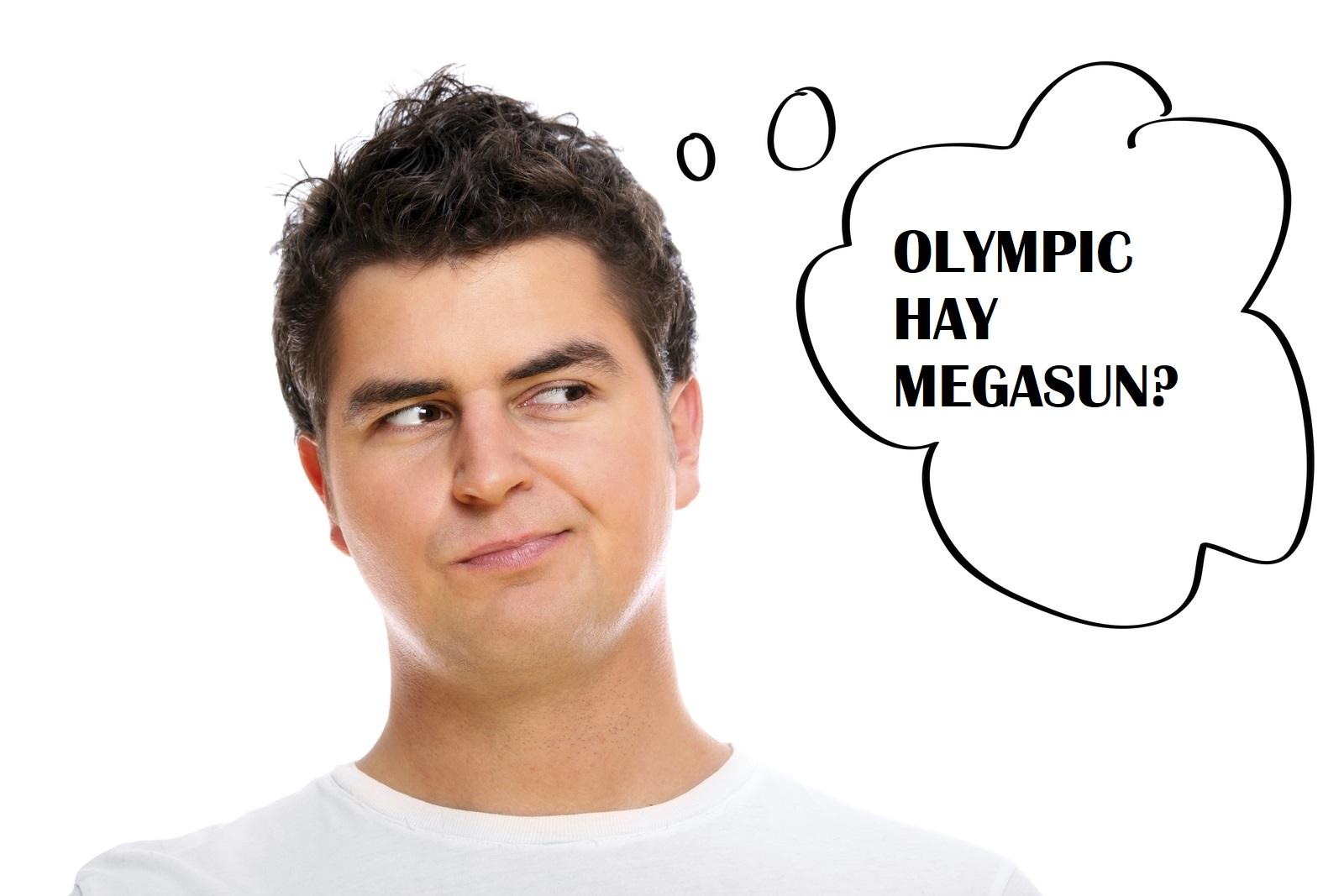 Máy năng lượng mặt trời Olympic hay Megasun?