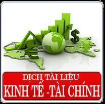 Dịch thuật chuyên ngành kinh tế, dich thuật tài liệu chuyên ngành tài chính