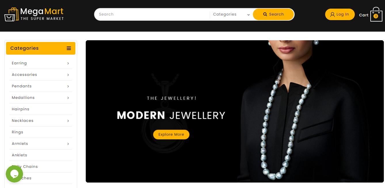 Mega Market - Opencart jewelry theme